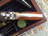 Beautiful Colt Model 1849 Pocket cased - 10 of 16