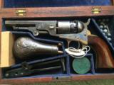 Extremely Fine Colt Model 1862 Pocket Navy - 1 of 11
