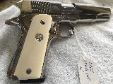 Stunning Colt Govenment Model series 80 MK IV .45 Bright Stainless