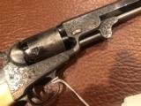 Fantastic, Scarce, Colt Model 1849 Factory Deluxe Engraved Presentation Gun - 23 of 25