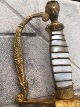 Near Perfect Mexican War Militia Staff Sword - 6 of 23
