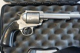 "Gary Reeder Custom 455 Alaskan Express built on a Stainless Ruger Blackhawk Ported 6"" Barrel with custom Sights - 5 of 5"