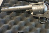 "Gary Reeder Custom 455 Alaskan Express built on a Stainless Ruger Blackhawk Ported 6"" Barrel with custom Sights - 2 of 5"