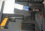 """CZ-USA CZ 75 Tactical Sport Orange 9mm Luger 5"""" Barrel Orange Handles - 1 of 10"""