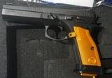 """CZ-USA CZ 75 Tactical Sport Orange 9mm Luger 5"""" Barrel Orange Handles - 4 of 10"""