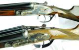 Arrieta Custom Made Matched Pair Cased 20ga SxS Shotguns - 2 of 12