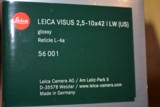 Leica Visus 2.5-10x42 Scope - Dealer Sample LNIB - Glossy