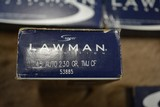 Speer Lawman 45 Auto 230 Gr. Cleanfire #53885 - 250 rds. - 1 of 5