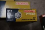 Federal Premium HST 357 Sig 125 Gr. - P357SHST1 - 250 rds - 1 of 5