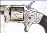 Nicely Engraved Spur Trigger,