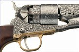 U.S. Fire-Arms Manufacturing Co.Engraved U.S. 1860 Army Model - 1 of 6