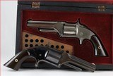 """smith & wesson""""first issue""""model1 1/2...lot of two."""