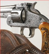 Engraved Smith & Wesson,American 2nd. Model Revolver