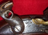 Original French Napoleonic Model An XIII Flintlock Cavalry Pistol made atMaubeugeArsenal - dated 1807 - 6 of 6