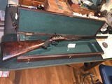 Extremely Rare Sir Joseph Whitworth .451 Percussion Double Rifle With Hexagonal Bore, and Case - 2 of 15