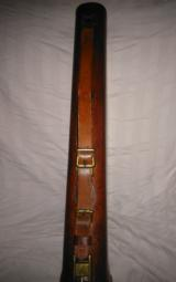 Abercrombie&Fitch leg of mutton leather takedown case ' rare and hard to find - 9 of 15