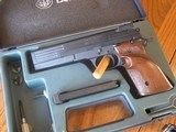 Beretta Model 89 STD 22 Match MINT
