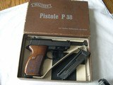 WaltherP-38 22 cal in Box MINT