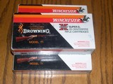 Browning Winchesster MFG 348 silver tips NIB
