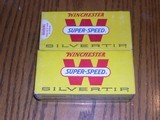 4 boxes 348 win silver tips, all exc yellow