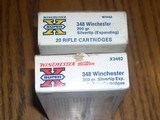 two boxes of winchester super x348 silvertips factory loads