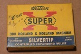 Win super X 300 H&H magnum Silver tips - 1 of 4
