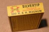 Win super X 300 H&H magnum Silver tips - 3 of 4