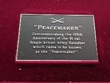 Colt SAA Peacemaker Centennial Commemorative Pair with matching numbers - 17 of 22