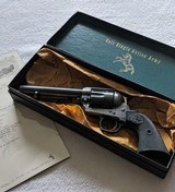 Colt SAA 2nd Gen 38 Special, Factory Letter, Black Box