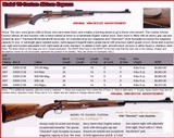 """WINCHESTER MOD 70 """"CLASSIC CUSTOM"""" - """"AFRICAN EXPRESS"""" - RARE - 416 REM MAG"""