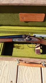 BERNARDELLI BRECIA SXS HAMMER GUN WITH 410 INSERTS AND MAKERS BOX