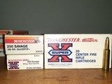 winchester super x and winchester western 250 300 savage