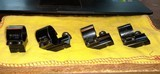 """WEAVER SCOPE RING AND 3 EXTENSION RINGS LOW1"""""""