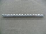 PICATINNEY RAIL SECTION EXTRUDED & MILLED T6 AIRCRAFT ALUMINUM 2 LENGTHS AVAILABLE