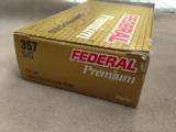 FEDERAL .357 SIG 125 GRAIN HYDRA SHOK JHP - 3 BOXES OF 50 EACH - MINT - 1 of 2