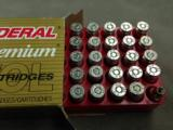 FEDERAL .357 SIG 125 GRAIN HYDRA SHOK JHP - 3 BOXES OF 50 EACH - MINT - 2 of 2
