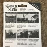 AMAZING HANDGUN SLING OBSOLETES HOLSTERS FOR CONCEALED CARRY