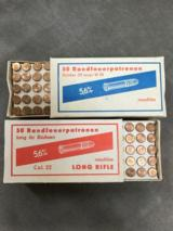 EAST GERMAN BIATHALON .22LR AMMO - RARE -