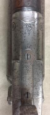 Rare Baker Pat Hammer Double Barrel 10 Ga by L C SMITH Syracuse NY - 5 of 18