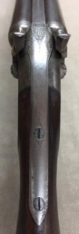 Rare Baker Pat Hammer Double Barrel 10 Ga by L C SMITH Syracuse NY - 7 of 18