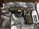 SIG Model P229 Equinox .40 Pistol w/box, etc.