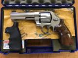 Smith & Wesson Model 625-6 Pre-Lock .45acp Stainless 5 Inch Revolver ANIB