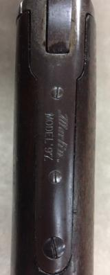 MARLIN MODEL 1897 .22 Rifle