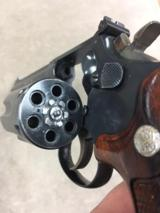 S&W Model 17-3 22lr 6 inch blued revolver with special order factory grips - 12 of 13