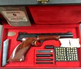 BROWNING MEDALIST, LEFT HANDED, CASED W/ACCESSORIES - VERY RARE -- 1 of 10