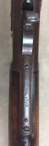 WINCHESTER MODEL 1873 RIFLE .44 WCF CIRCA 1880 - ORIGINAL - - 14 of 17
