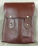 Two Each Romanian Leather Magazine Pouch - each holds 4 AK or 4 AR 30 Round Mags