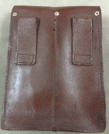 Two Each Romanian Leather Magazine Pouch - each holds 4 AK or 4 AR 30 Round Mags - 3 of 6