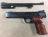 S&W Model 41 .22lr w/both short and long barrels - excellent -