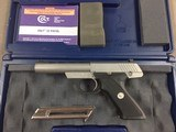 Colt .22 Auto Stainless - 98%